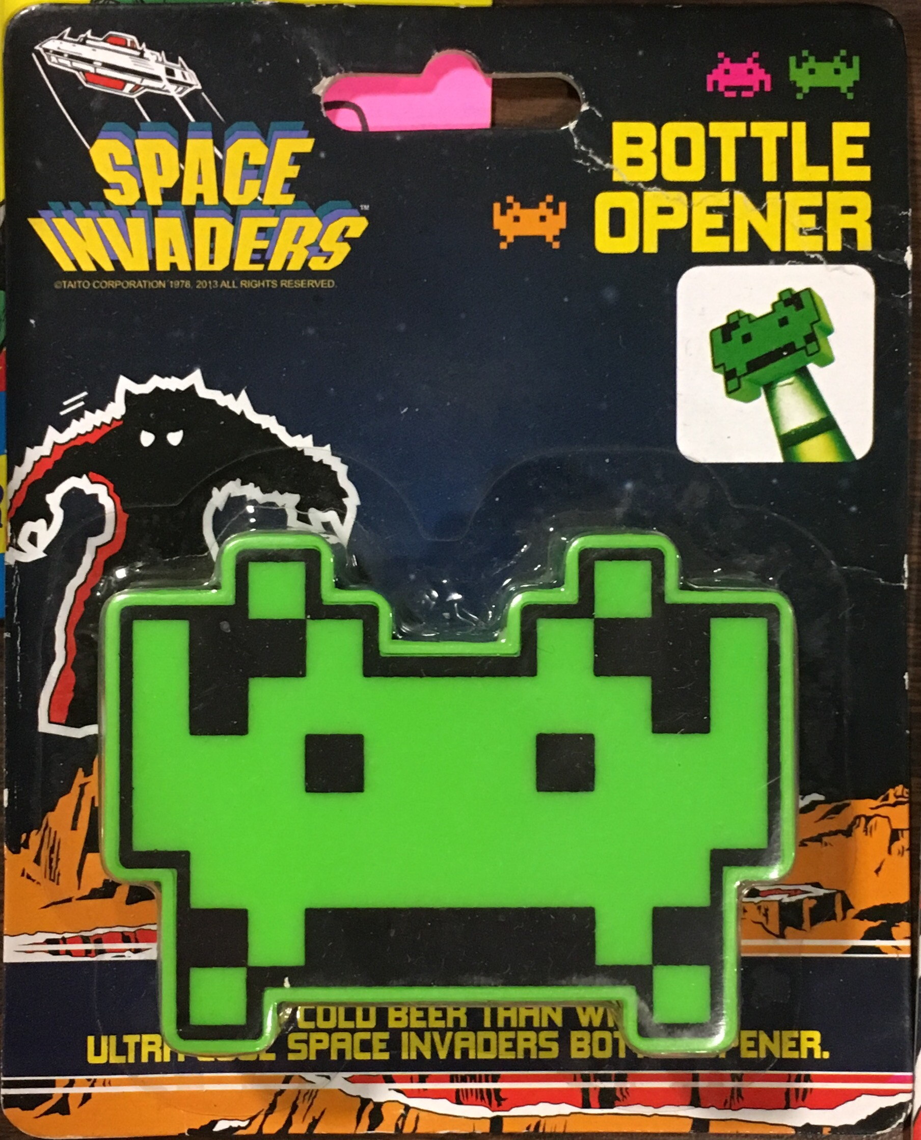 Space Invaders Toys - Bug Eyed Monster